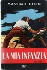 DT La mia infanzia Massimo Gorki Bietti 1955