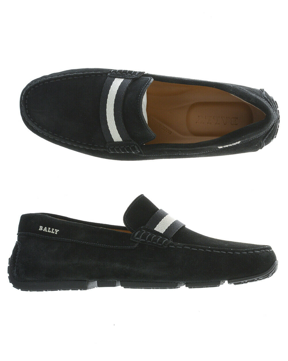 Mocassin Bally shoes PEARCE Cuir Homme black 6212806 101 TL. 40,5 FAIRE OFFRE