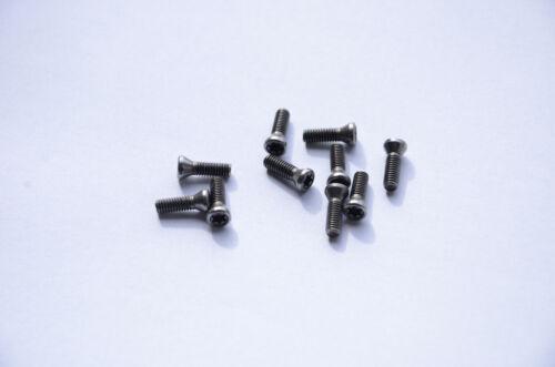 10 x Schraube Torx  M5x14 für Klemmhalter  Wendeplattenhalter