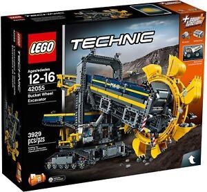 Lego-Technic-42055-Excavadora-de-Mina-Nuevo