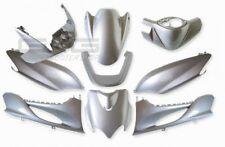 Verkleidung Verkleidungsset Verkleidungsteile Silber MBK Mach G Yamaha Jog R RR