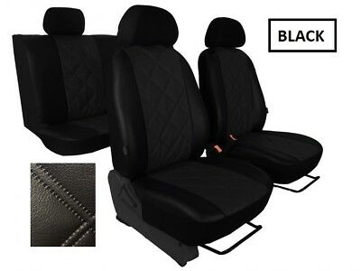 MERCEDES VITO 447 1+1 2014 PRESENT ECO LEATHER /& ALICANTE TAILORED SEAT COVERS