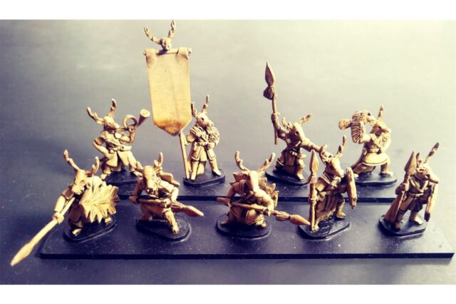 15mm Fantasy Wovian Spearmen With Shields (16 Figures)