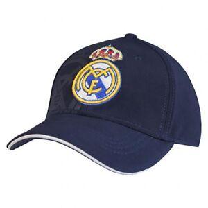 Real Madrid-Adulte Casquette de baseball (NV) - Cadeau  </span>
