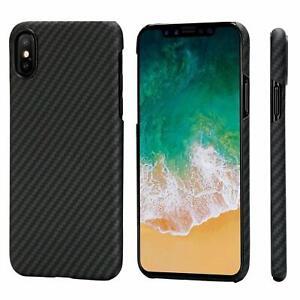 Veritable-fibre-de-carbone-Case-Ultra-Slim-Coque-Housse-Pour-iPhone-X-XR-XS-Max