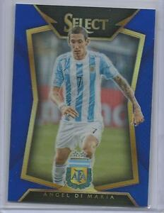 PANINI SELECT Soccer 2015 BASE CARD #63 Angel Di Maria-Argentine