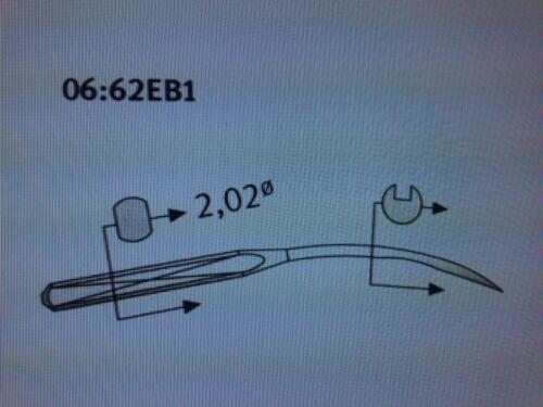 Schmetz UNX154 casi como nuevo//90 tamaño 14//036 L//bola punto aguja de máquina de coser industrial