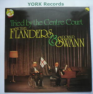 Details about FLANDERS & SWANN - Tried By The Centre Court - Ex Con LP  Record EMI NTS 116