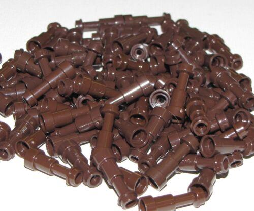 LEGO LOT OF 100 NEW DARK BROWN TELESCOPE MINIFIGURE UTENSILS PIECES