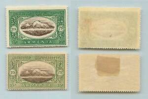 Armenia Asia Rta8590 Brilliant Armenia 1920 25 Mint Color Variations