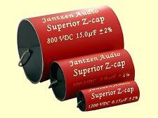 2 pc JANTZEN audio Cross-Cap 2,2uf 2,20 UF 400vdc MKP 5/% 16x26mm Axial #bp