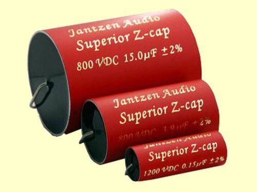 Jantzen Audio  Z-SUPERIOR Cap  12uF 800VDC  MKP 2/%  46x70mm  axial 1 pc