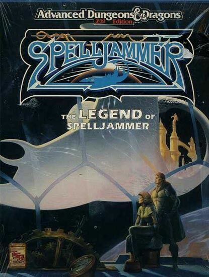 The Legend of Spelljammer Advanced D&d 2nd Ed. Incomplete 3 Books ...