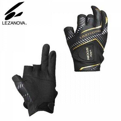 SHIMANO GL-142S Fishing Glove 5 NEXUS LEZANOVA LIMITED PRO White Japan Tracking