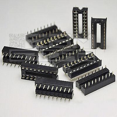 ZOCCOLO PLCC 28 PIN THT per circuiti integrati socket 28 pin contatti