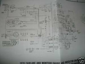 1970 ford torino montego wiring diagrams manual sheets ebay. Black Bedroom Furniture Sets. Home Design Ideas