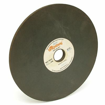 """Brightboy 46GF106 10/"""" x 10mm x 1-1//4/"""" Polishing Wheel"""