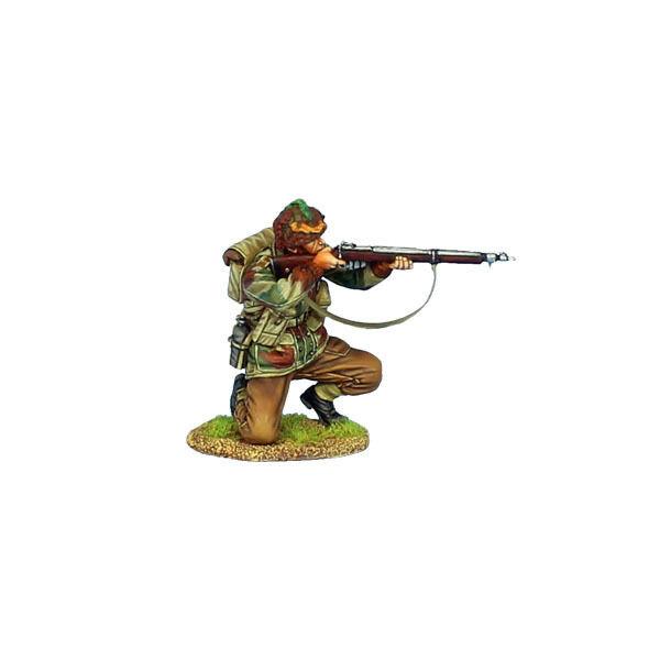 First Legion  NOR059 British Aibrorne Kneeling Firing Enfield Mk 1