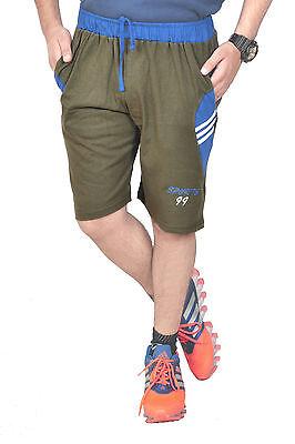 Sun Men's Shorts | Casual Wear| Sleepwear  Royal Mehandi+Royal Blue