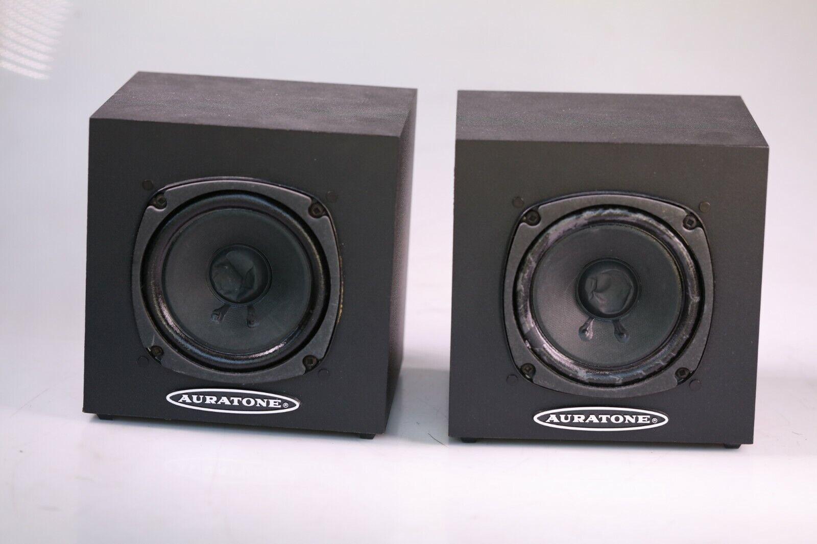 Auratone 5C Sound Cube Passive Monitors Auratones Pair