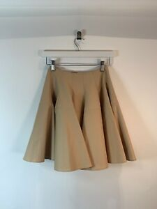 Alaia-Womens-Nude-Oink-Skater-Skirt-Size-36-UK8-598-C9404-A