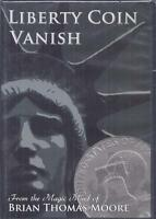 Dvd: Liberty Coin Vanish With Brian Thomas Moore.......new