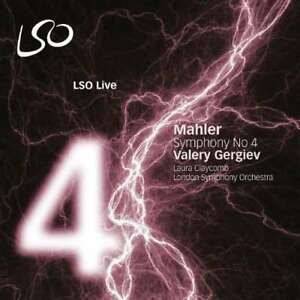 Valery-Gergiev-Laura-Claycomb-Lso-Mahler-Symphonie-N-4-NEW-CD