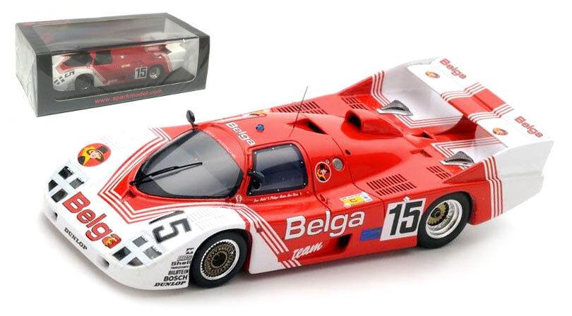 la red entera más baja Spark S5507 Porsche 936 936 936 C 'belga  Le Mans 1983-Martin Duez Martin escala 1 43  nueva gama alta exclusiva