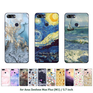 size 40 f633a 420cb Soft TPU Silicone Case For Asus Zenfone Max Plus M1 Phone Back Cover ...