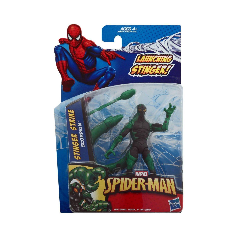 Spider-Man 3.75  action figures - Stinger Strike Scorpion Marvel