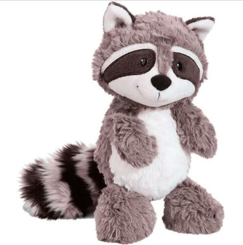 Cute big tail Gray Raccoon plush doll Stuffed Animal 55 cm soft toys