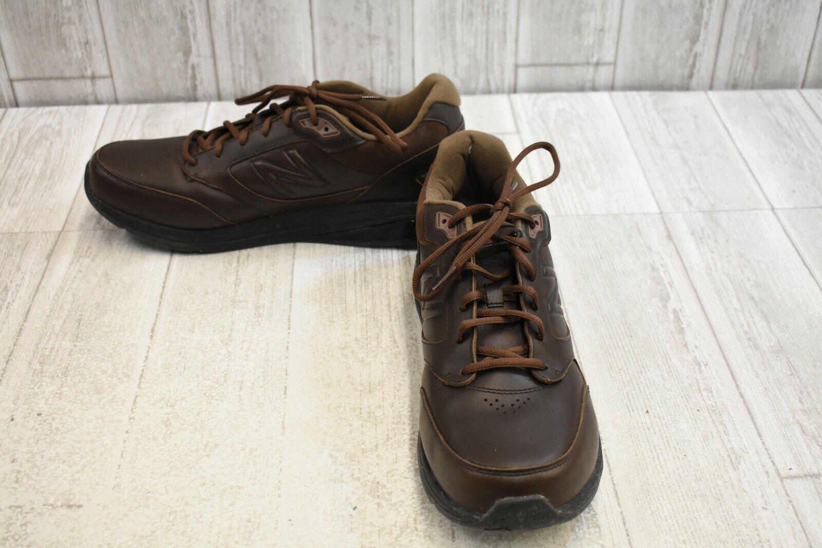 Zapatos Para Caminar MW928BR3 New Balance-para Hombres Talla 12.5 D-Marrón