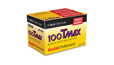 3 Rolls Kodak Tmax 100 Pro 135-36 Black & White Negative (Print) Film 04/2018
