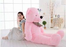 "Big Huge Giant 55""Stuffed Plush Teddy Bear Toy Animal Doll pink/birthday gift"