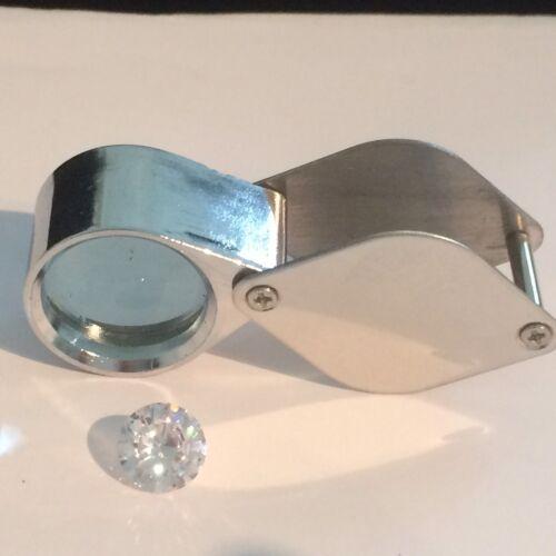 Diamantlupe Edelsteinlupe 10-fach Vergrösserung