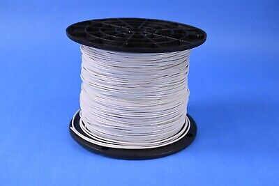 1,000 Mil-Spec Wire 16 AWG 19 Strands 600V Silver Plated Copper TFE M16878-BJE-9