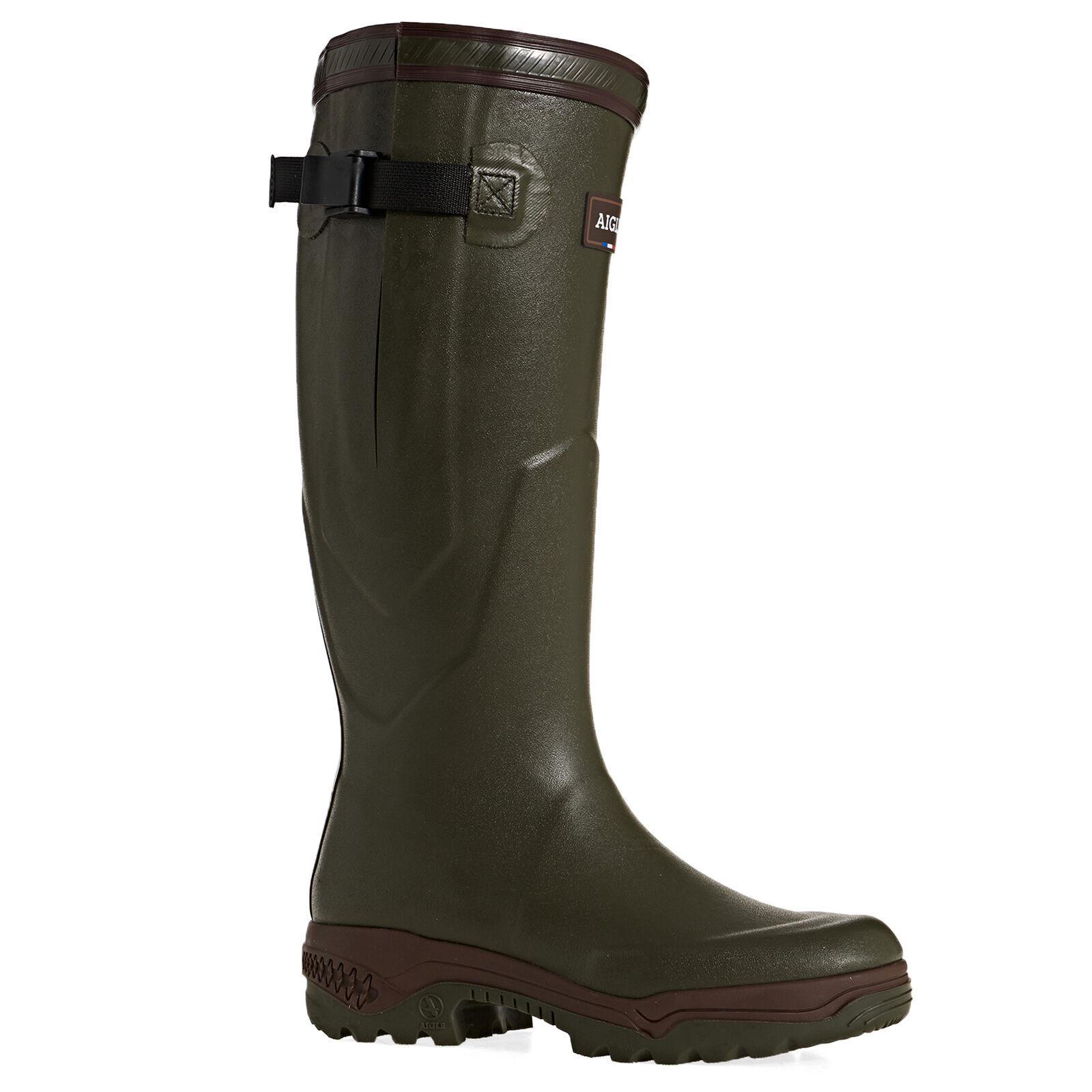 Aigle Parcours 2 Vario Mens Boots Wellington - Kaki All Sizes