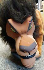 "Disney Lion King Scar 18"" Plush Applause Vinyl Face Stuffed Animal"