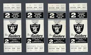 1983-NFL-CHICAGO-BEARS-LOS-ANGELES-RAIDERS-FULL-FOOTBALL-TICKETS-WALTER-PAYTON