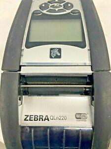 Zebra QLn220 Wireless Direct Thermal Label Printer - Monochrome - Portable