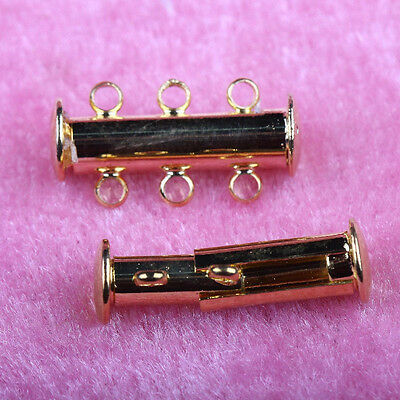 HotSell 5/10 Sets Gold/Silver/Copper Plated Magnetic Clasps For Jewelry Findings