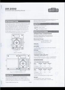 HQ Copy* State 24-7 DR-2000 Model N Chemical Dispensing Pump Owner's Manual