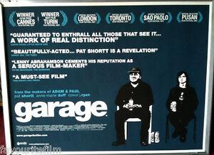 Details About Cinema Poster Garage 2007 Quad Pat Shortt Anne Marie Duff Conor Ryan
