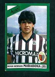 HUGO-MARADONA-ASCOLI-CALCIATORI-1987-88-CALCIO-ED-PANINI-Nuovo-di-zecca