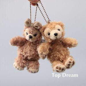 SHELLIE-MAY-Duffy-Bear-Plush-Keychain-Soft-Doll-Toy-Key-Ring-Pendant-Cute-Gift