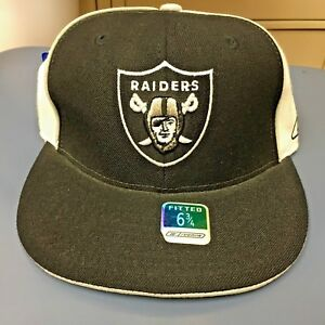 3da9bc6ad86a29 Image is loading NFL-OAKLAND-RAIDERS-FITTED-HAT-SIZE-6-3-
