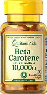 Puritan-039-s-Pride-Beta-Carotene-10-000-IU-100-Softgels