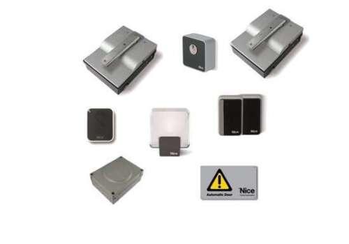 NICE SFAB2024KCE Kit Tor klappbar Erdung 3,5m 24Vdc XMETRO 2024 nice X