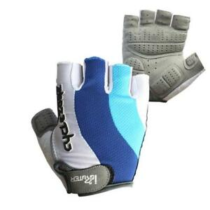 New-Fashion-Cycling-Bike-Bicycle-GEL-Shockproof-Sports-Half-Finger-Glove-M-XXL