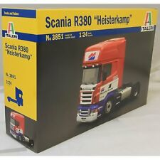 "Italeri 1/24 SCANIA R380 ""HEISTERKAMP"" #3851 *New*Sealed*"